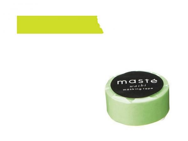 Klebeband Mark's Masté Washi Masking Neon Light green