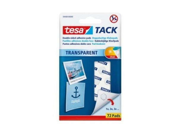 Haftstücke Tesa Powerstrips Tack transparent