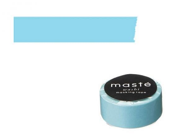 Klebeband Mark's Masté Washi Masking Colorful Blue