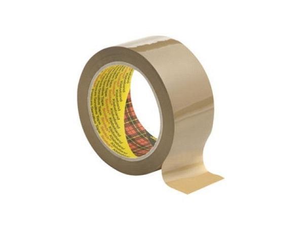 Verpackungsband Scotch PP II braun, 25mmx66m, selbstklebend