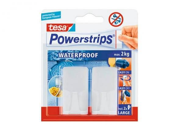 Powerstrips Tesa Wandhaken Waterproof Wave