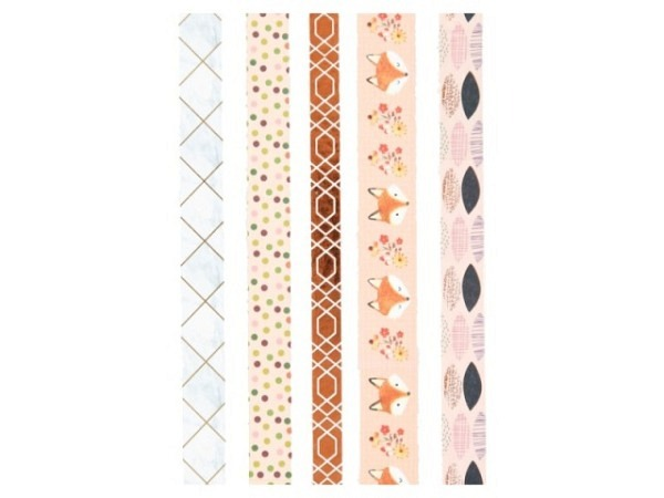 Klebeband Mark's Masté Washi Masking Tape Nature Flowerfield