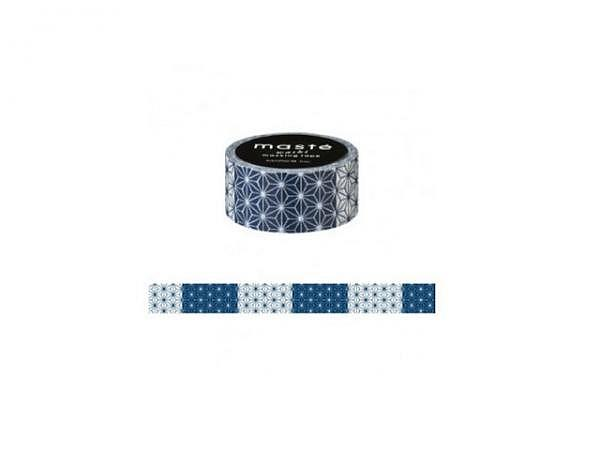 Klebeband Mark's Masté Washi Masking Tape Japanese Asanoha