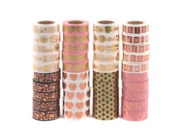 Klebeband Artebene Tape Basic Colorful Stripes 10m x 15mm