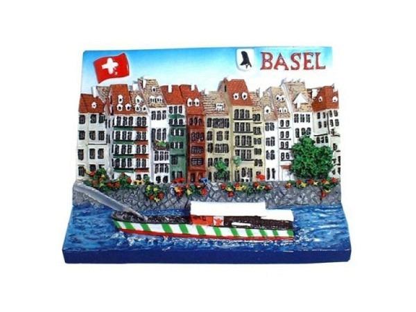 Magnet Basel Schifflände rechteckiges Bild