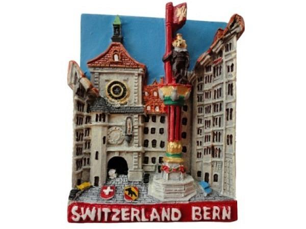 Magnet Bern Zytglogge mit Zähringerbrunnen
