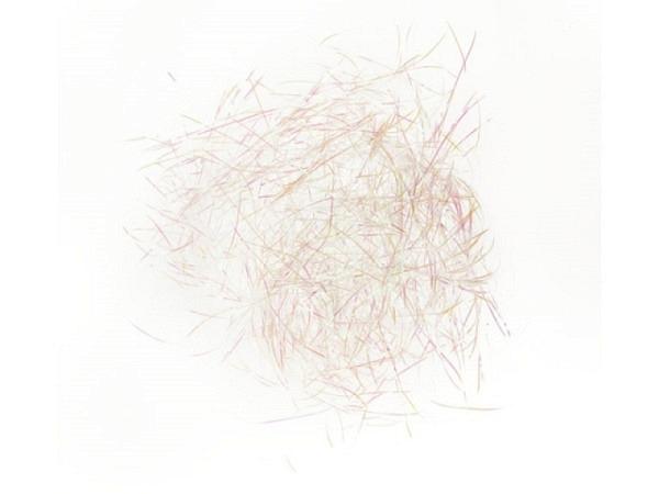Polstermaterial PaperPoetry Flitter weiss irisierend, 20g