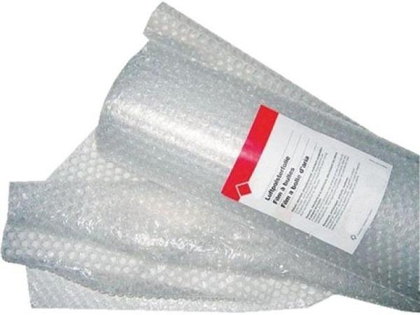 Luftpolsterfolie 1mx5m transparent, Bubble Film Roll