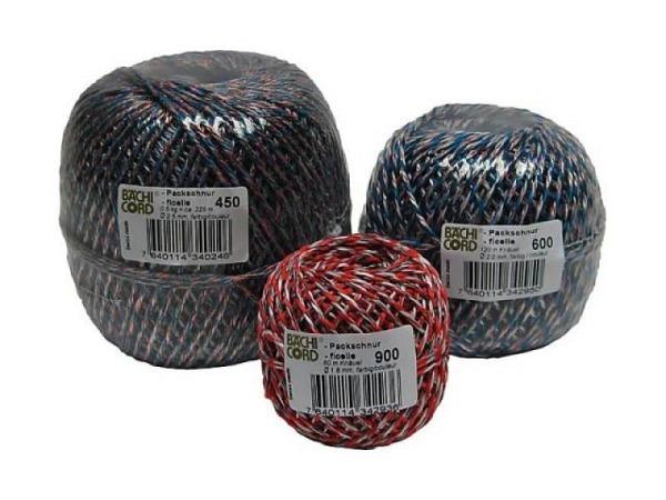 Schnur Bächi Textil 3mmx75m farbig