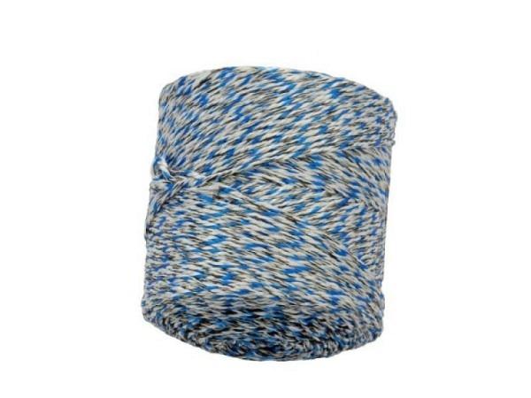 Schnur Hanf in Plastik farbig 2,5mm 225m