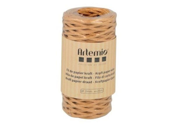 Schnur Bakers Twine Natural Braun einfarbig, 2mmx20m lang