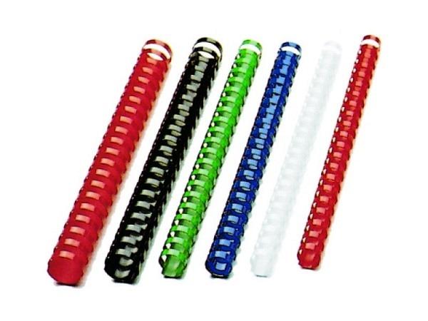 Plastikspiralen GBC CombBind 21 Ringe 16mm weiss 1Stk.