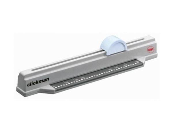 Bindemaschine GBC Clickman hellgrau manuell, mechanisch