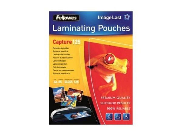 Laminierfolie Fellowes glänzend A4 216x303mm 2x125Mikron