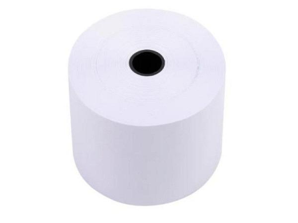 Additionsrolle weiss Papierbreite 44mm, Ø 78mm