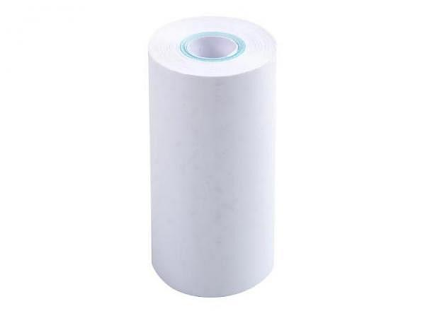 Additionsrolle weiss Papierbreite 57mm, Ø 35mm