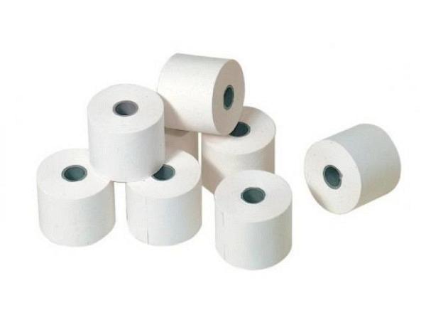 Additionsrolle weiss Papierbreite 38mm, Ø 40mm