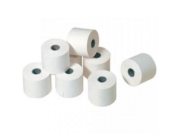 Additionsrolle weiss Papierbreite 82mm, Durchmesser 82mm