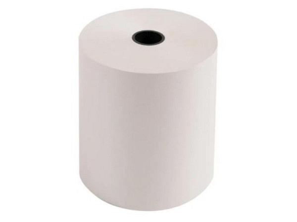 Additionsrolle weiss Papierbreite 76mm, Ø 70mm