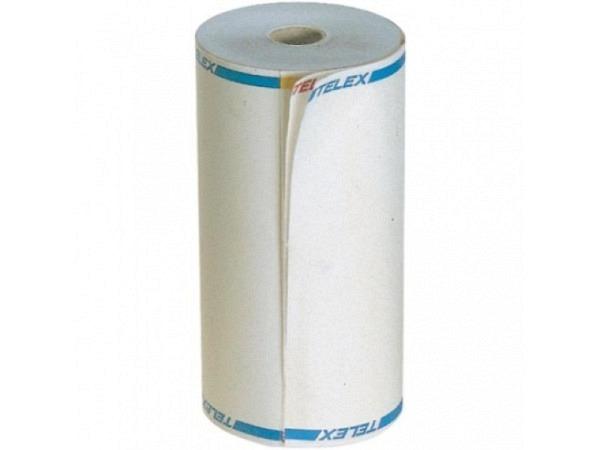 Telex-Rolle 1fach weiss 208mm breit
