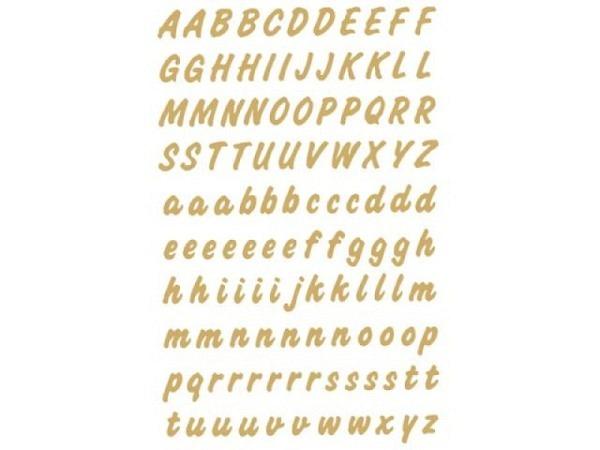 Buchstaben Herma 84x120mm A-Z 8mm hoch golden
