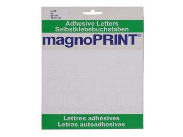 Buchstaben Magnoprint SK 20mm weiss A-Z