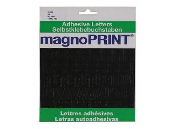 Buchstaben Magnoprint SK 20mm schwarz A-Z
