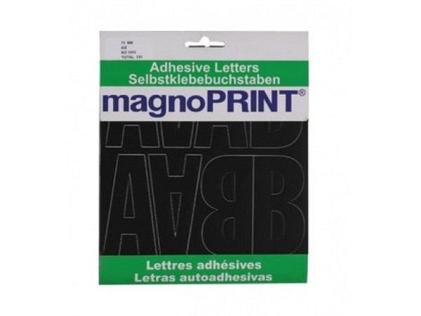 Buchstaben Magnoprint SK 75mm A-Z schwarz