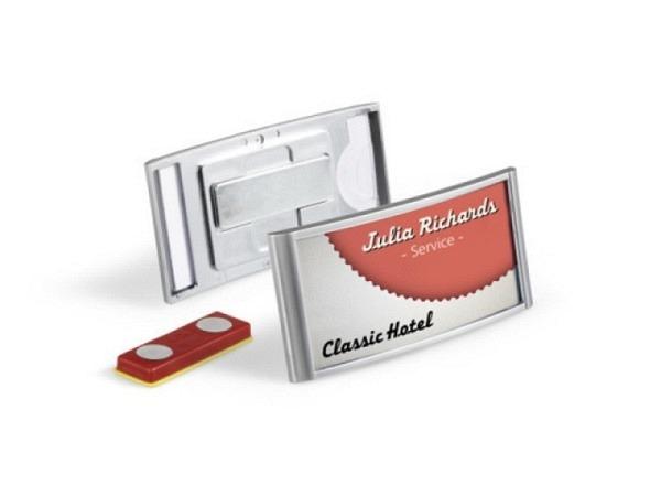 Namensschilder Durable Classic 30x65mm magnetisch