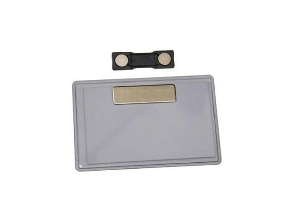 Namensschild Office Box 54x95mm mit Magnetverschluss