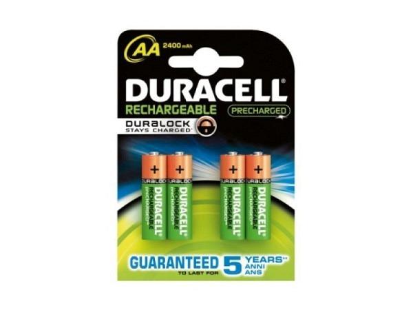 Batterien Duracell AA StayCharged Akku
