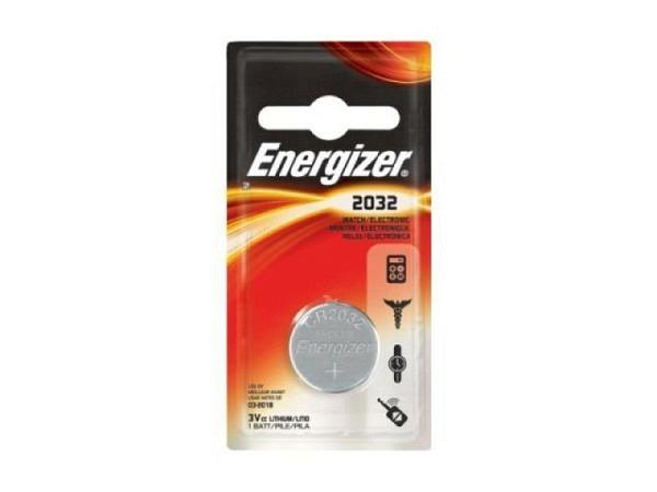 Batterien Energizer Knopf CR2032 3V 2Stk.