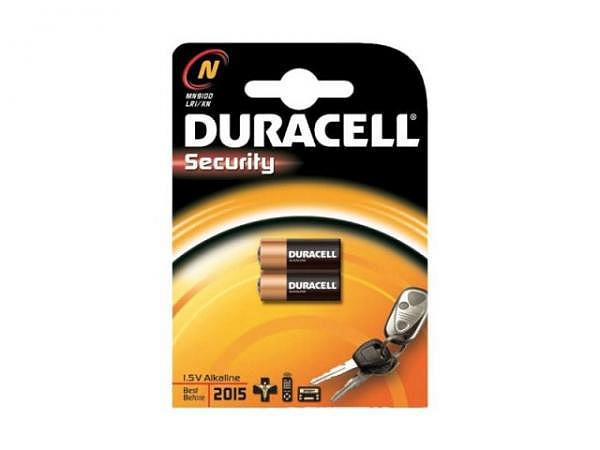 Batterien Duracell Security 1,5V, Alkali Batterietypen