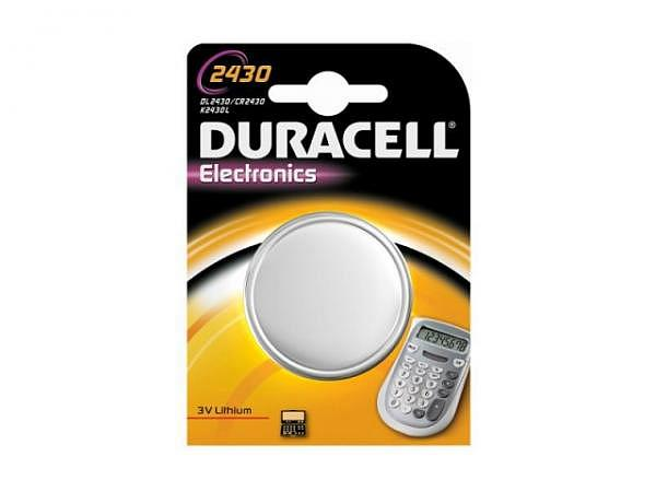 Batterien Duracell Knopf CR2430 3V