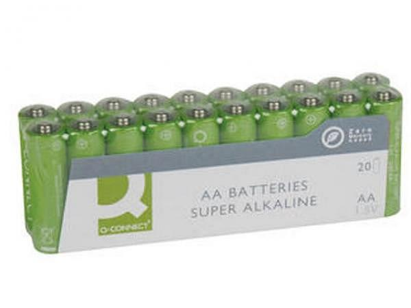 Batterien Connect AA 1,5V, 20Stk, lr6