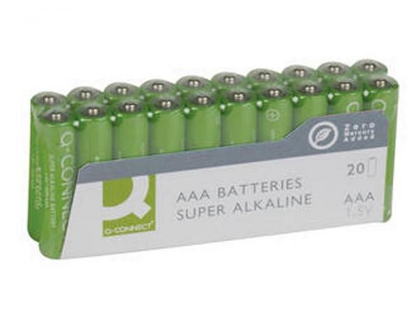 Batterien Connect AAA 1,5V, 20Stk, lr03