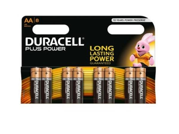 Batterien Duracell Plus Power AA 8Stück 1,5V