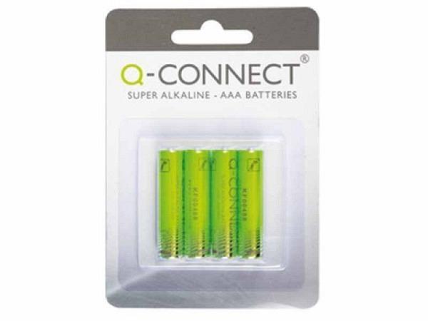 Batterien Connect Alkaline AAA 1,5V, 4Stk, KF00488