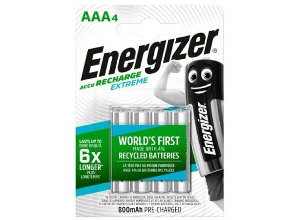 Batterien Energizer Accu Recharge AAA 4Stk.