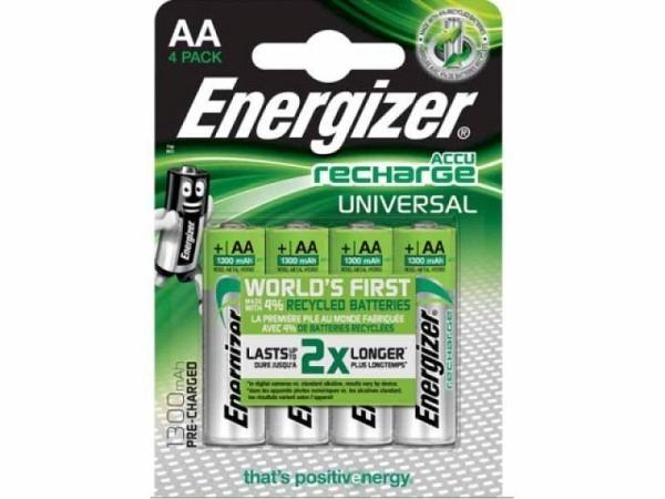 Batterien Energizer Accu Recharge AA 4Stk.