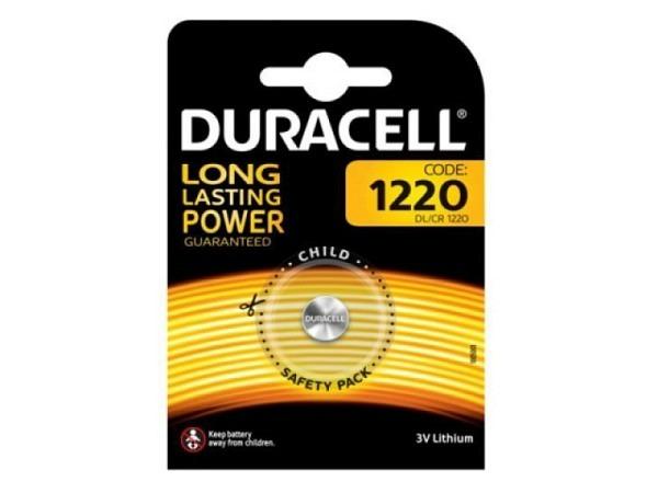 Batterien Duracell Lithiumbatterie CR1220 3V Lithium B1 1Stk.