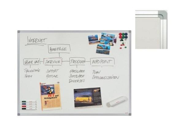 Whiteboard Berec Businessline emaillierte Oberfläche 30x45cm