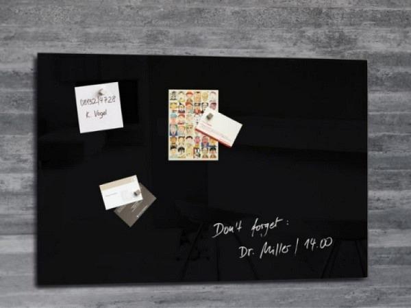 Magnettafel Sigel Artverum schwarz 40x60cm