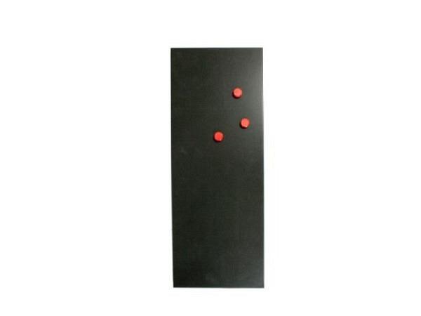 Magnettafel Trendform schwarz 22x56cm
