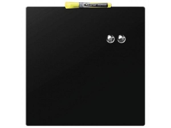 Magnettafel Nobo Quartet schwarz 36x36cm