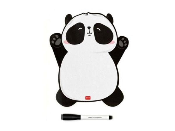 Magnettafel Sigel Memo Schwarz 7-Zonen-Einteilung 20x80cm