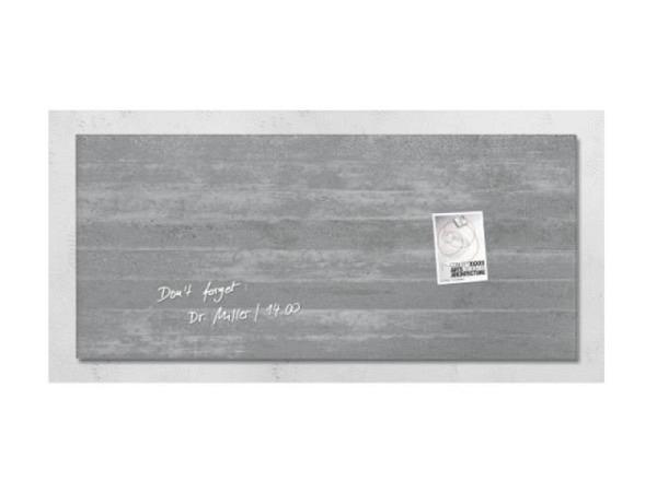 Magnettafel Sigel Artverum Beton 46x91cm, 1,5cm