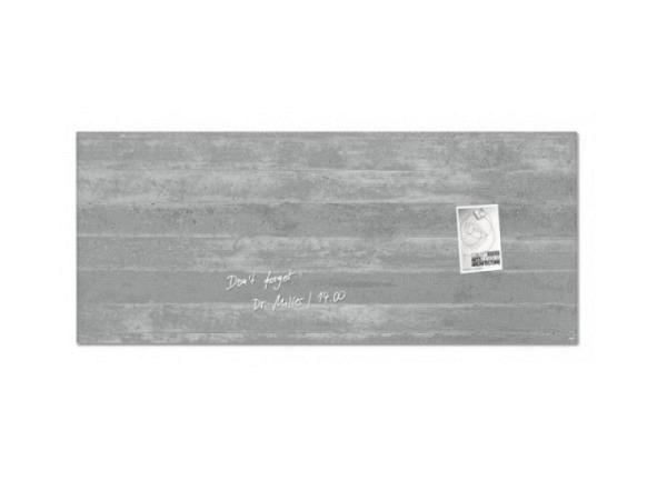 Magnettafel Sigel Artverum Sichtbeton 130x55cm