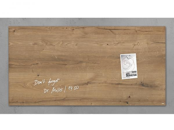 Magnettafel Sigel Artverum Natural Wood 46x91cm