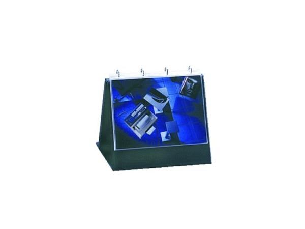 Flipchart Durable A4 quer mit 10 Hüllen Tischflipchart